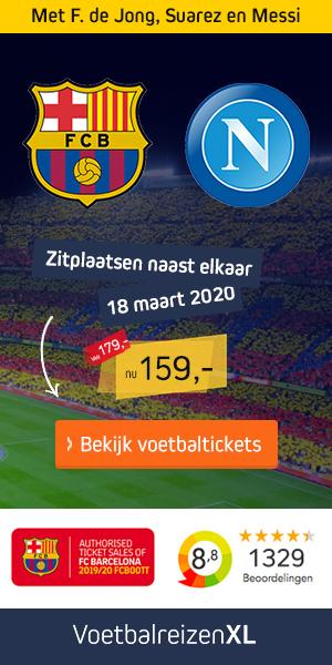 Barcelona voetbalreizen